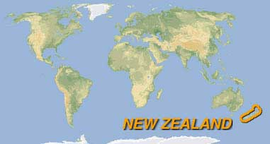 GRAPHITE Travel And New Zealand - World map new zealand